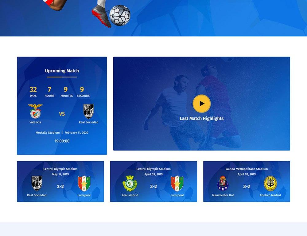 Khelo – Soccer & Football Club WordPress Theme – RS Theme
